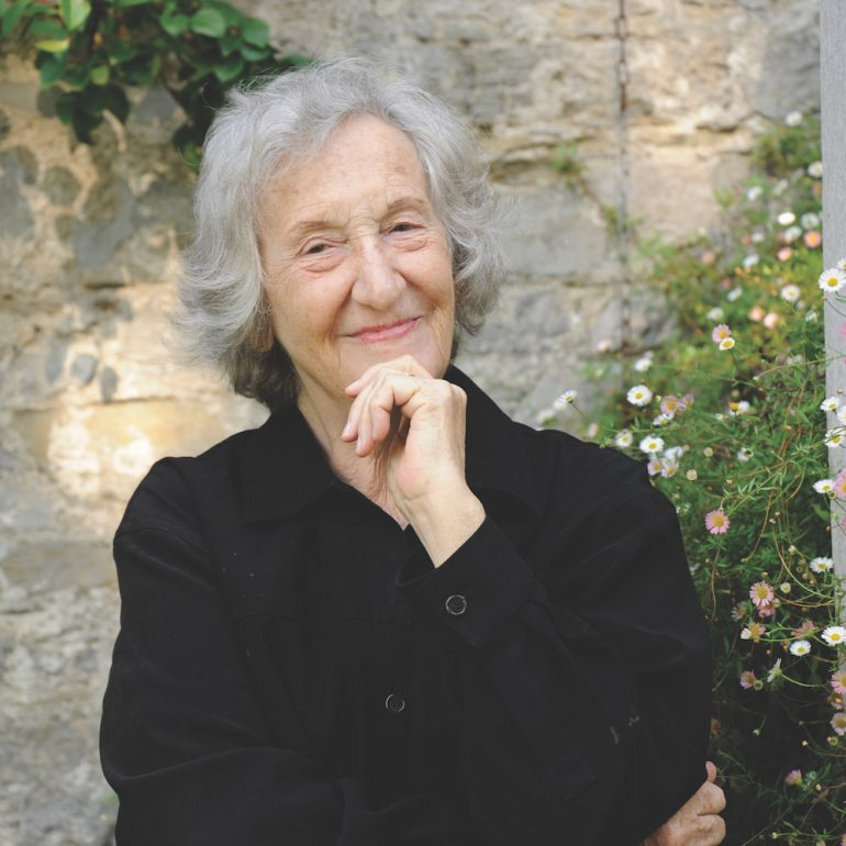 Thea Musgrave, photograph by Kate Mount
