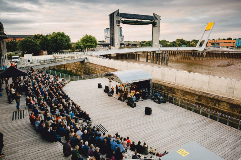 Eliza Carthy at the PRSF New Music Biennial 2017, photo Tom Arran